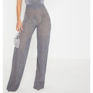 Pretty little thing high waist palazzo pants